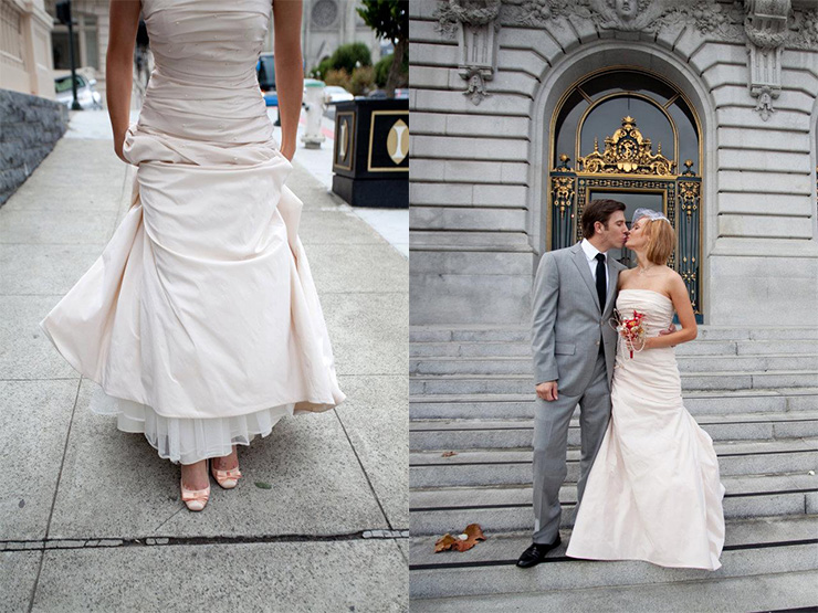 Kaare and Bethann San Francisco City Hall Weddings